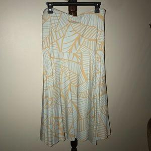 J. McLaughlin strapless dress